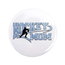 Hockey Mom Athletic Tail Button
