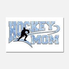 Hockey Mom Athletic Tail Car Magnet 20 X 12