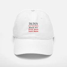 Dear Santa Baseball Baseball Baseball Cap