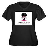 Natural hair Plus Size