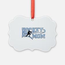 Hockey Mom Athletic Tail Ornament