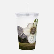 Yosemite Valley's Half Acrylic Double-wall Tumbler