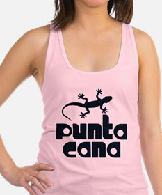 Funny Dominican Racerback Tank Top