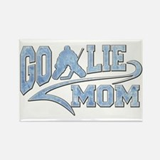 Hockey Goalie Mom Athletic Tail Magnets