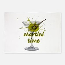 Martini Time Splash 5'x7'Area Rug