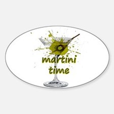 Martini Time Splash Decal