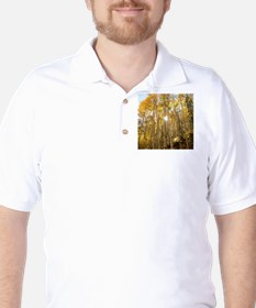 Aspens and Sunshine Golf Shirt