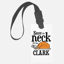 Save Neck Clark Luggage Tag