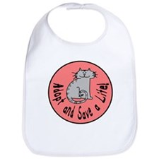 Adopt and Save a Life! Cat Bib