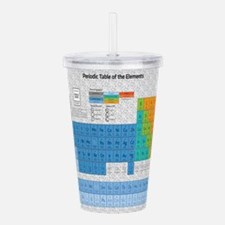 Periodical Table Of El Acrylic Double-wall Tumbler