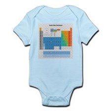Periodical Table Of Elements Infant Bodysuit