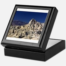 Manly Beacon, Death Valley NP, viewed Keepsake Box