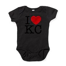 Cute Kansas city Baby Bodysuit