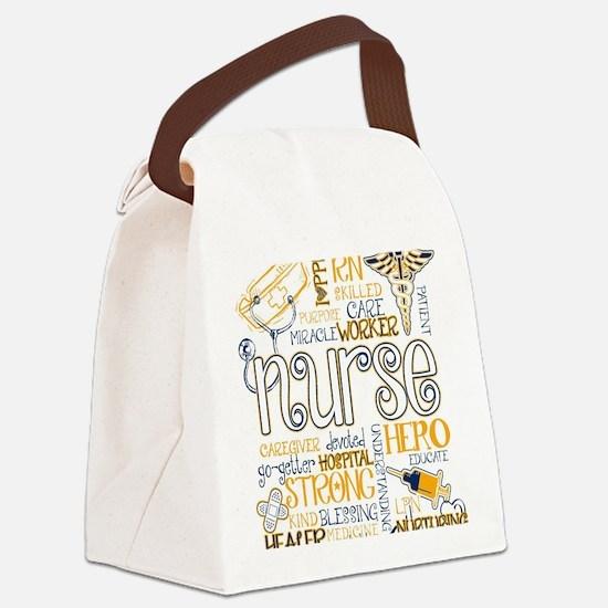 Cute Nurses Canvas Lunch Bag