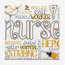 Cute Nurse Tile Coaster