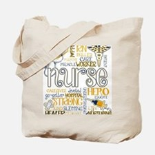 Unique Onsie nurse Tote Bag