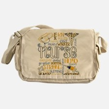 Cute Nurse Messenger Bag