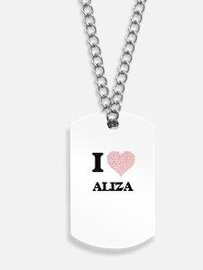 Aliza Dog Tags