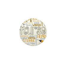 Cute Nurse Mini Button (100 pack)