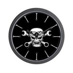 Chromeboy & Cross-Wrenches Wall Clock