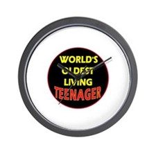Oldest Teen Wall Clock