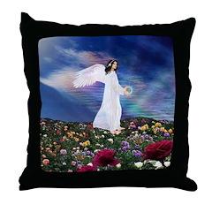October Angel : Throw Pillow