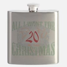 All I Want for Christmas (crit die) Flask