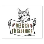 Merry Christmas Dog Posters