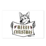 Merry Christmas Dog Postcards (Package of 8)