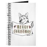 Merry Christmas Dog Journal
