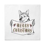 Merry Christmas Dog Queen Duvet