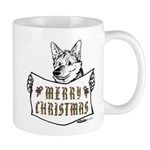 Merry Christmas Dog Mugs
