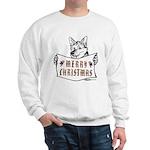 Merry Christmas Dog Sweatshirt