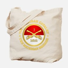 7th Michigan Cavalry Tote Bag