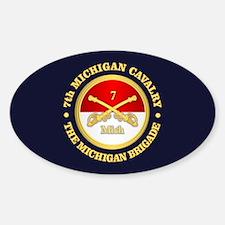 7th Michigan Cavalry Decal