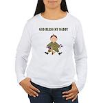 God Bless My Daddy Women's Long Sleeve T-Shirt