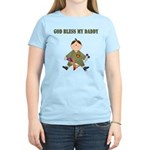 God Bless My Daddy Women's Light T-Shirt