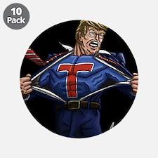 """Super Trump! 3.5"""" Button (10 pack)"""