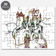 Cute King of hill Puzzle