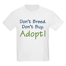 Don't Breed -  Kids T-Shirt