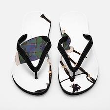 Cute Hornpipe Flip Flops