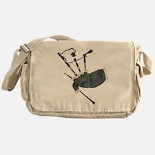 Cute Tartan Messenger Bag