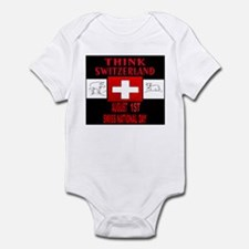 First Of August Infant Bodysuit