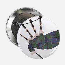 "tartan plaid scottish bagpipes 2.25"" Button"