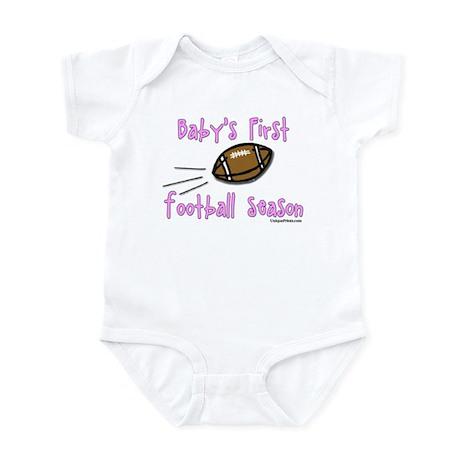 Baby's First Football Season Infant Bodysuit