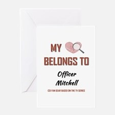 OFFICER MITCHELL Greeting Cards