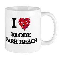 I love Klode Park Beach Wisconsin Mugs