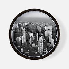 Unique New york city skyline Wall Clock