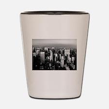 Cute Skyscrapers Shot Glass
