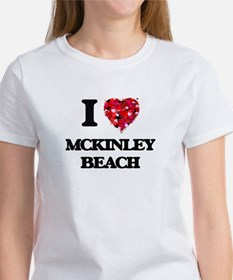 I love Mckinley Beach Wisconsin T-Shirt